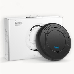 Robot Vacuum Cleaner Sweep&Wet Mop Simultaneously For Hard Floors&Carpet Run About 100mins before Automatically Charge Authentic on Sale
