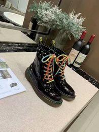 $enCountryForm.capitalKeyWord Australia - Fashion Luxury Designer Women Lover Martin Boots Leather Women Boot Girls Designer Luxury Shoes With Party Boots Winter Free Shoes