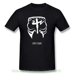 Painting Faces UK - Custom T Shirts Men's Tech N9ne Face Paint Logo T-shirt Black Summer New Men Cotton T-shirt