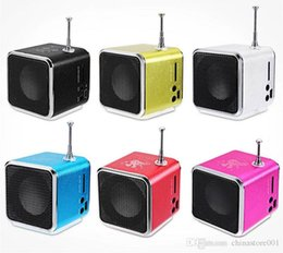 cheap usb mp3 player 2020 - Mini FM Radio Cheap Outdoor Running Portable Speaker Micro SD Card USB Music MP3 Player Sounds Box Drop Shipping