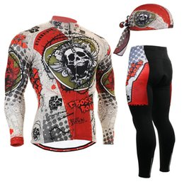 Life Gel Australia - Life on Track Long Sleeve Breathable Cycling Clothing 3D Gel Pad Pants Spring Autumn MTB Road Bike Bicycle Cycling Jersey Set #257166