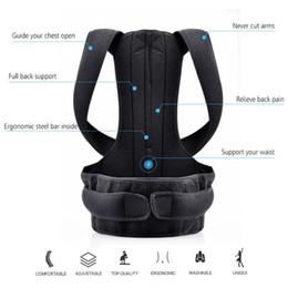 bb6315a1f Brace Shoulder Support Back Care Posture Corrector Adjustable Clavicle  Strap Improve Sit Walk Prevent Slouching for Women Men