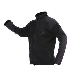 windbreaker jacket removable liner Australia - Fleece Liner Mountaineering Fleece Thick Jacket Raincoat Jacket Outdoor Clothing