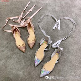 aa65a9aebb Shop Transparent Flat Pointed Shoes UK   Transparent Flat Pointed ...