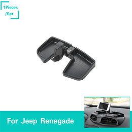 Jeep phones online shopping - ABS Car Mobile Phone Holder For Jeep Renegade ABS Auto Exterior Accessories New Arrival High Quality