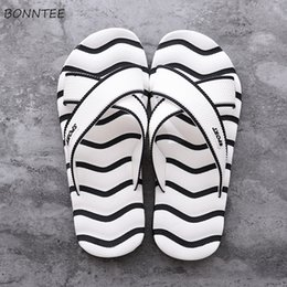 Korean Style Shoes Wholesale Australia - Men's Slippers Korean Style Summer Soft Bottom Lightweight High Quality Classic Shoes Men Non-slip Mixed Colors Simple Chic New