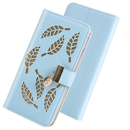 leaving cards Australia - For LG K50 Q60 Q8 Flip Cover Stand Wallet Case Card Slots Hollow Out Gold Leaves For LG Q Stylo 4 K40 W10