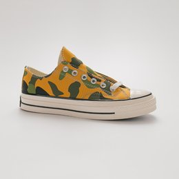 $enCountryForm.capitalKeyWord NZ - Unisex Canvas Shoes 164408C Women Men Originals Classic Skateboarding One Star 1970s Camouflage Factory Price Lovers Sneaker Size 35-44
