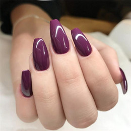 Temperament Jelly fake nails !shine dazzling Gothic dark society ballet with false nails 30 pieces of wholesale on Sale