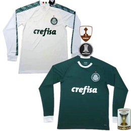 69688042a631a 2019 PALMEIRAS SOCCER JERSEYS MANCHES LONGUES GREEN HOME WAY WHITE BRESIL  LEAGUE 19 20 MAILLOT 2020 FO
