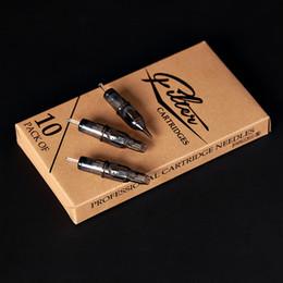 $enCountryForm.capitalKeyWord Australia - 10 pcs lot Original Filter Cartridge Tattoo Needles Round Liner #10 0.30 mm Membrane System Needles for Cartridge Machine Grip