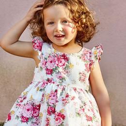 $enCountryForm.capitalKeyWord Australia - Newborn Kids Baby Girl Floral Tutu Dress Toddler Girls Summer Vestidos Wedding Pageant Party Princess Tutu Gown Dresses Sundress