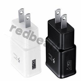 Опт Быстрое адаптивное зарядное устройство Eu US Plug адаптер питания для samsung galaxy s6 S7 edge s8 S9 Примечание 8 9 для iphone 6 7 8 x
