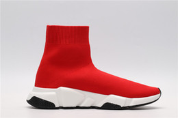 $enCountryForm.capitalKeyWord NZ - Sock Shoes 2019 designer men women Speed Trainer Boots black white red glitter Flat fashion mens Trainers Runner