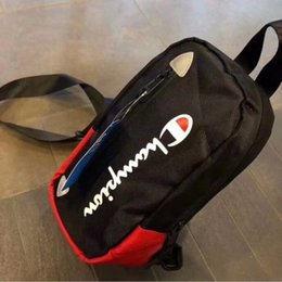 Belt purses online shopping - Letter Waist Bag Unisex Fanny Packs Canvas Belt Shoulder Bags Fashion Handbags Travel Beach Makeup Chest Bags Phone Purse MMA1569 pc