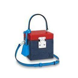 $enCountryForm.capitalKeyWord Australia - M52466 Women Trunk Bleecker Box Cross-body Purse Bag Blue Shoulder Bag Messenger Shoulder Bags Crossbody Handbags Totes Boston Bags