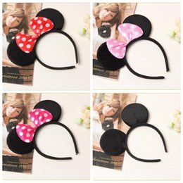 Stick Big Australia - New big bow hair sticks baby Europe and America animal ears dot children party festival hair accessories