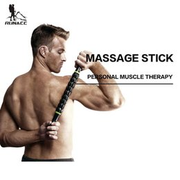 $enCountryForm.capitalKeyWord Australia - RUNACC Muscle Roller Stick Body Massage Roller Body Massager for Relieving Muscle Soreness and Cramping Black
