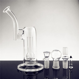 thick matrix perc bong Canada - New Mobius Matrix sidecar glass bong birdcage perc glass Bongs thick glass water smoking pipes with 18 mm joint free shiping