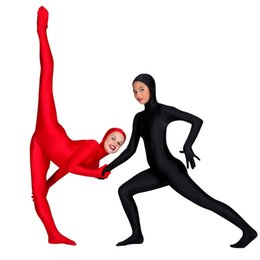 $enCountryForm.capitalKeyWord NZ - SPEERISE Children Face Open Black Zentai Kids Suits One Piece Tights Full Body Boys Lycra Spandex Nylon Girls Costumes