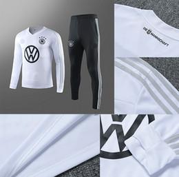 Germany tracksuit online shopping - 2019 Germany training suit MULLER KROOS PARKER KAKU soccer tracksuit survetement football jacket tracksuits set