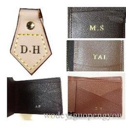 $enCountryForm.capitalKeyWord Australia - customer order : hot stamp   hot stamping your initials on your bag or wallet .