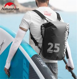 Naturehike Factory Store Outdoor Waterproof Bag Dry Wet Separation Swimming Bag Beach Mobile Phone Snorkel Backpack Drifting Bag Camping & Hiking Campcookingsupplies