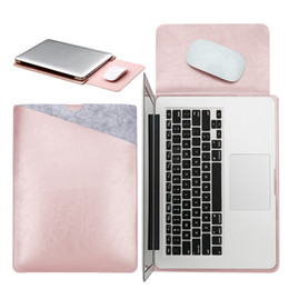 $enCountryForm.capitalKeyWord Australia - Mouse Pad Pouch Notebook Case for Xiaomi Macbook Air 11.6 12 13 Cover Retina Pro 13.3 15 15.6 Fashion Laptop Sleeve Leather Bag