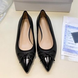 $enCountryForm.capitalKeyWord Australia - High quality sexy pointed flat shoes,womens ballet shoes,fashion party dress shoes, casual dress leather shoes,breathable and comfortabl qa