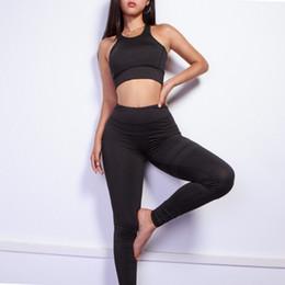 10c7c88c45ccf Red Gym Clothing Australia - 2018 Hot Sport Clothing Women Sport Suit  Running Set Gym Clothing