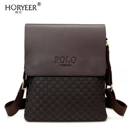 polo bags NZ - Wholetide- Horyeer Famous Brand Polo Bag Men Messenger Bags Crossbody Small Sacoche Homme Satchel Man Satchels Bolsos Travel Shoulder Bags