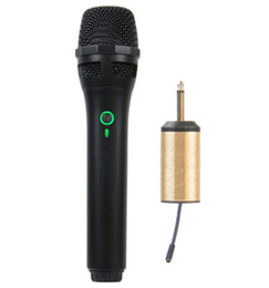 Universal wireless microphone microphone computer wheat TV wheat speaker plug and play wireless microphone on Sale