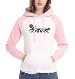 red black tracksuits Australia - pink white fleece hooded women 2019 high quality loose red black sweatshirt harajuku raglan long sleeve brand tracksuit pullover
