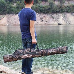 $enCountryForm.capitalKeyWord Australia - Fishing Rod Bag 130cm 2-Layer Folding Bag Waterproof Rod Fishing Tackle Single Shoulder Hand De Pesca Saltwater Freshwater #777259