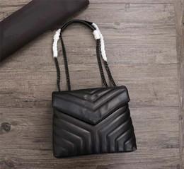Vintage shoulder bags online shopping - designer handbags Y shoulder purse genuine leather high quality women handbag fashion totes loulou Y purse bag