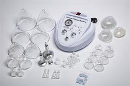 Venta al por mayor de Nuevo listado Terapia de masaje con vacío Ampliación de la bomba Levantador de senos Masajeador Taza de busto Cuerpo que forma la máquina de belleza VS600