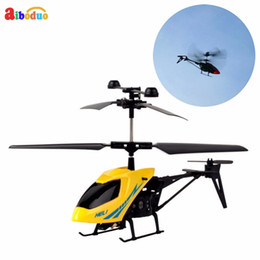 Radio Controlled Toy Helicopter Australia - 2ch Mini Rc Helicopter Remote Control Aircraft Radio Electric Micro 2 Channel Toy Helicopter