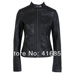 $enCountryForm.capitalKeyWord Australia - 2013 spring new foreign trade of the original single Pimkie washed PU leather motorcycle jacket women short paragraph T221