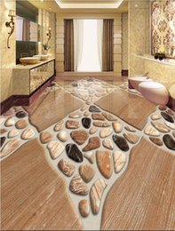 Modern Tiles For Kitchen NZ - 3d pvc flooring custom photo wall paper 3D floor painting natural stone floor tile three-dimensional pebbles murals wallpaper for walls 3 d
