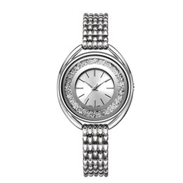 DiamonD bracelet Digital watch online shopping - 2018 New Fashion Style Women Watch Full diamond Lady Steel Chain Bracelet wristWatch High Quality Casual fashion designer watches girl gift