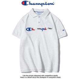 6ff2284e3e5a sports t shirt logos 2019 - 15 color Newest Summer Men T shirt Champ bb GC