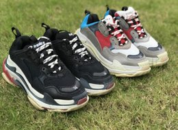 $enCountryForm.capitalKeyWord Australia - 2019 cheap for men pumps munroBr Casual Shoes For Triple s Men Women Low Cut Casual Shoes Sneakers Unisex Zapatillas Trainers