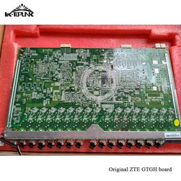 zte c Australia - original for ZTE service board GPON GTGH 16ports C+ board use for C300 C320 OLT with 16 SFP Modules included