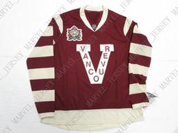 1ce5a7036 Heritage Classic Jerseys UK - Cheap custom VANCOUVER CANUCKS 2014 HERITAGE  CLASSIC HOCKEY JERSEY stitch add