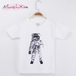 $enCountryForm.capitalKeyWord NZ - 2019 Children T-shirt The Astronauts Space 100% Cotton Child Shirt Girl Short T Shirts Kids Vest Baby Clothes Boy Tops Teens Tee Y19051003