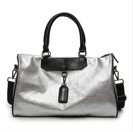 $enCountryForm.capitalKeyWord Australia - Brand Fashion PU Leather Handbag High Quality Crossbody Big Female For Women Silver Girl Messenger Hand Ladies Bags Tote Travel