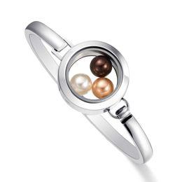 Silver Screw Bracelet Australia - Fashion Silver Screw Lockets Bangles 316L Stainless Steel Women Bangle Bracelets Jewelry for Best Gift 2019 SL016