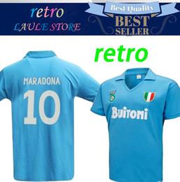 d03df5b7 ItalIa shIrts online shopping - Napoli Retro Soccer Jersey Napoli Coppa  Italia SSC Vintage Calcio MAGLIA