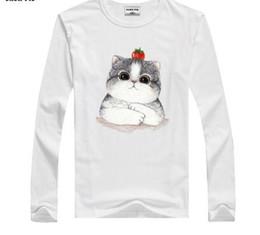 $enCountryForm.capitalKeyWord Australia - 2019 Winter Boys T-shirt Baby Girls Clothes Cartoon Cat Long Sleeve T Shirts For Children Tshirts 2 3 4 Years