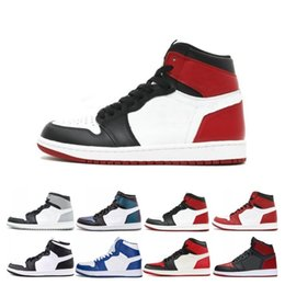 Camping paCks online shopping - 1 s Basketball Shoes New Love Shadow Camo UNC Shadow Sports Trainers men Top Chameleon Camo Pack Shattered Bred Toe sneakers